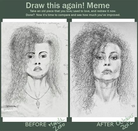 Draw This Again Meme Fail - draw this again meme bellatrix by auri3 on deviantart