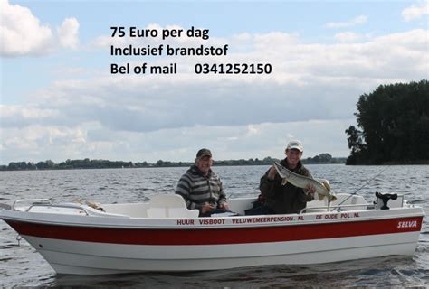 visboot huren family visboot huren in elburg gelderland bootverhuur