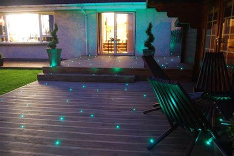 fiber optic garden lights starry night fiber optic patio lighting apartment therapy