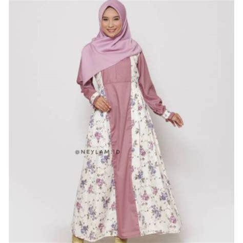 Gamis Toyobo Ori gamis safana dusty pink 2 shopee indonesia