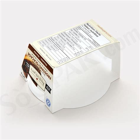 Custom Sleeve Food Food Durable Packaging Box Manufacturer In Canada Packaging Sleeve Template