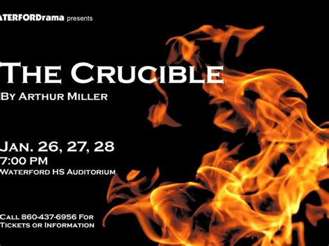 the crucible themes intolerance waterfordrama presents a modern adaptation of quot the