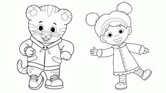 daniel tiger coloring daniel tiger coloring pages best coloring pages for