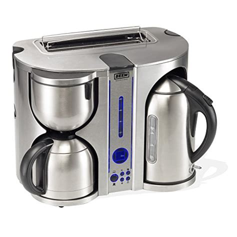 kaffeemaschine wasserkocher toaster beem germany ecco de luxe 4 in 1 fr 252 hst 252 cks center