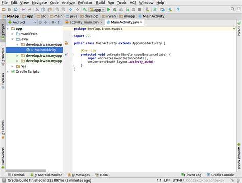 tutorial install android studio di ubuntu cara instal android studio di ubuntu cah bagus nongkrong