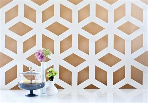 geometric pattern diy 25 pieces of geometric wall art we want now brit co