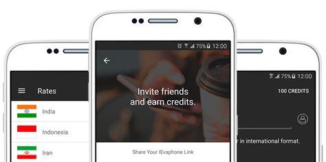 free mobile calls through mobile application to make free calls ievaphone