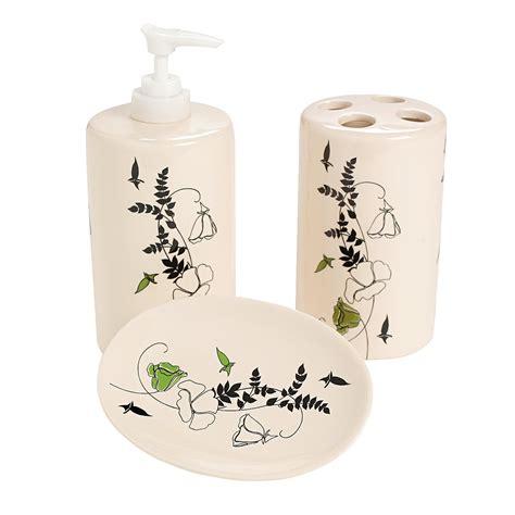 Floral Bathroom Accessories Black White Floral Bathroom Accessories Supplies Bath Home Decor Trading