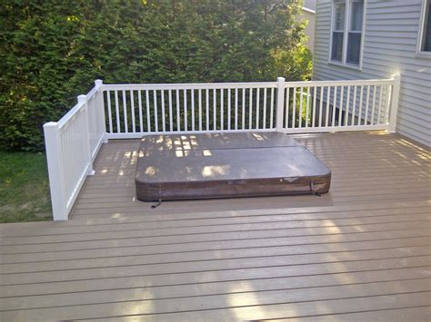 vinyl deck railing and decking poly enterprises