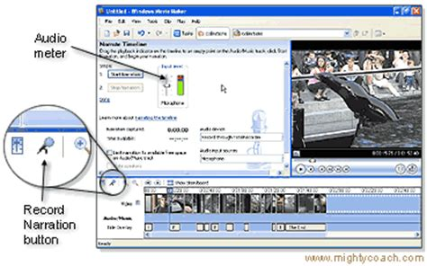 windows live movie maker narration tutorial how to add narration windows movie maker tutorials