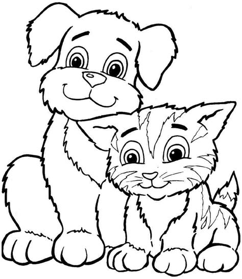 animal coloring pages kitten 30 animals coloring pages for free gianfreda net
