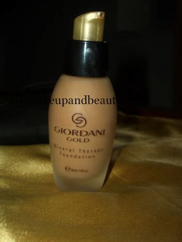 Makeup Giordani oriflame giordani gold mineral therapy foundation review indian makeup and