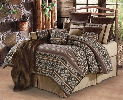 hxws4078 q tuscon western bedding set queen