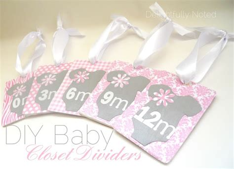 Baby Clothes Dividers For Closet by Closet Dividers Nursery