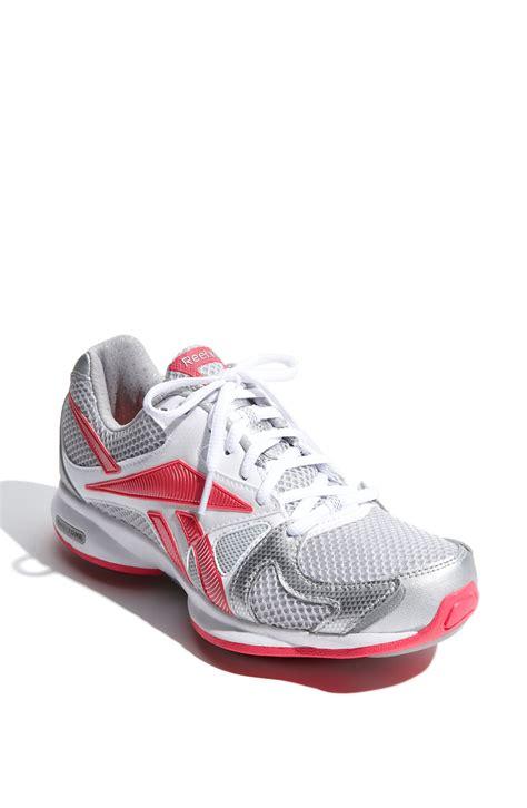 reebok walking shoes reebok easytone inspire walking shoe in pink