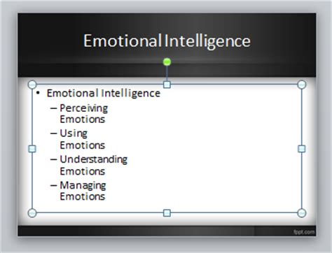 psychology themes for powerpoint 2010 using smartart graphics in powerpoint as a pro
