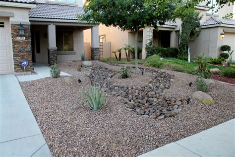 yard rev remodel arizona living landscape