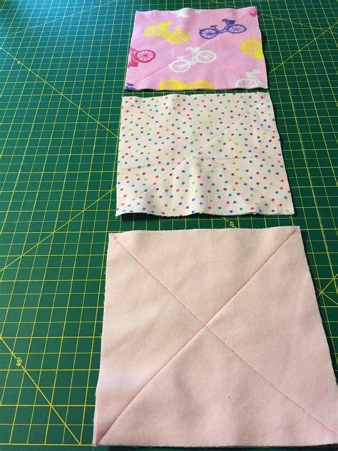 Sewing Quilt Squares Together by Pet Sized Rag Quilt 183 How To Make A Patchwork Quilt