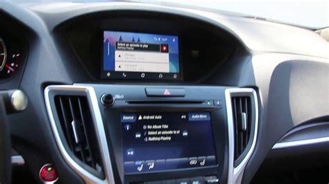 apple carplay  android auto    acura tlx youtube