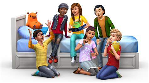 the sims collect trading cards in the sims 4 kids room stuff simcitizens