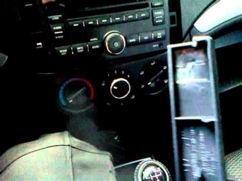 mini tutorial desmontar estereo chevrolet aveo youtube