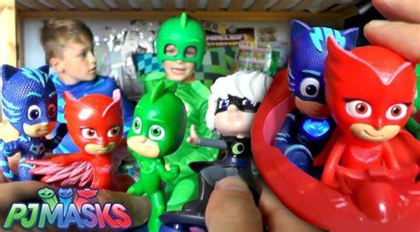 Spesial Mainan Edukasi Figur Pj Masks pj masks hunt official toys unboxed family gamer tv