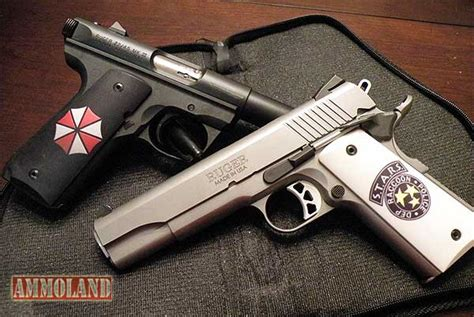 Handmade Pistols - personalized custom image handgun grips