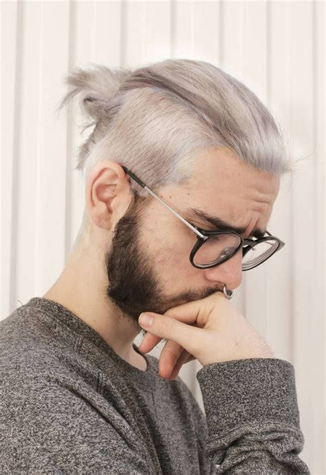 hairstyles mens instagram 20 shades of hot gray haired guys facebook style and