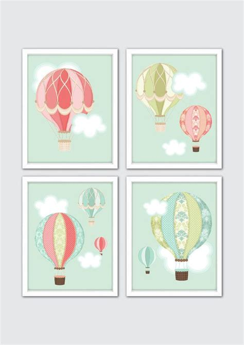 air balloon nursery air balloon decoration