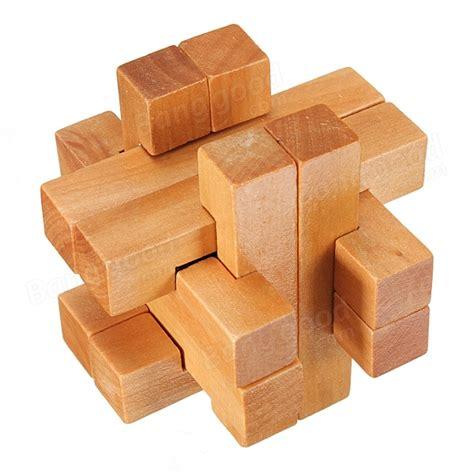 woodwork puzzles vintage 3d wooden brain teaser puzzle us 3 89