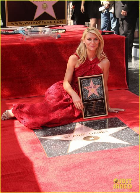 Claire Danes Receives Star On Hollywood Walk Of Fame With | claire danes receives star on hollywood walk of fame
