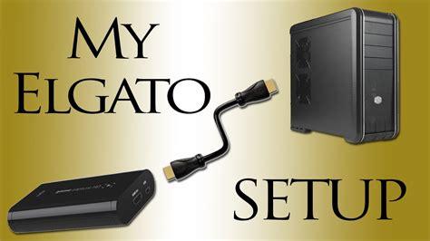 2 PC Elgato setup and Audio through HDMI - YouTube Hdmi Cable To Tv Setup