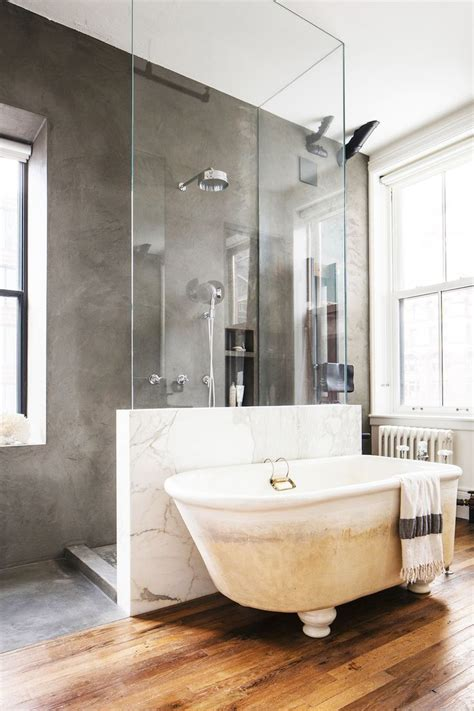 Beautiful Modern Bathrooms Tour A Family S Hip Industrial Loft In New York Industrial Loft Lofts And Industrial