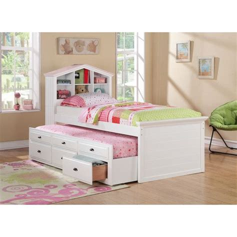 trundle bed with bookcase headboard trundle bed with bookcase headboard