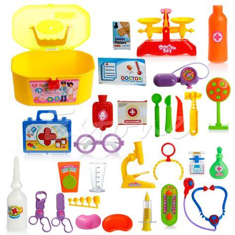 Play Baby Healt 30pcs baby doctor play carry set education play kit ebay