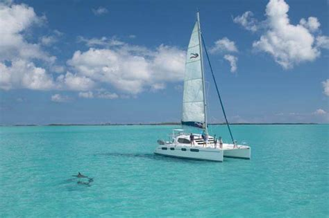 catamaran sailing in the bahamas catamaran cruise in the abaco archipelago bahamas