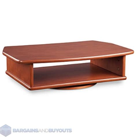 Table Top Tv Shelf tabletop turntable tv stand with dvd player lower shelf cherry 350417 ebay