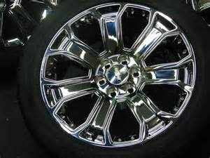 Oem Chevy Truck Wheels And Tires 2014 2015 Cadillac Escalade Gmc Chevrolet