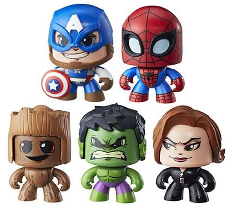 Mighty Muggs Marvel marvel mighty muggs wave 2 revealed photos black panther marvel news