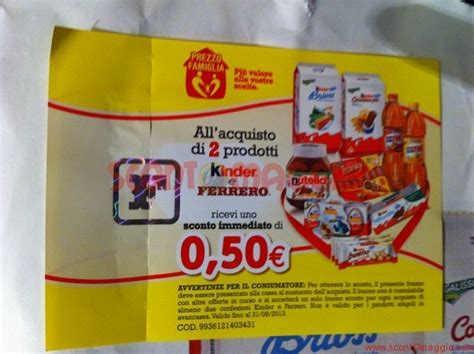coupon alimenti nuovi coupon sconto sulle confezioni dei prodotti
