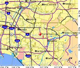 where is fullerton california in a map opiniones de fullerton california