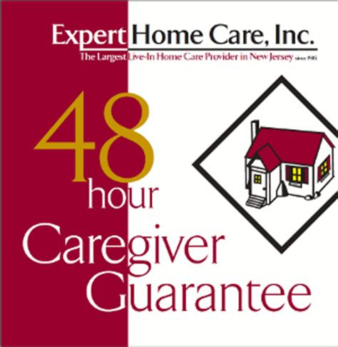 48 hour caregiver guarantee for new jersey home care