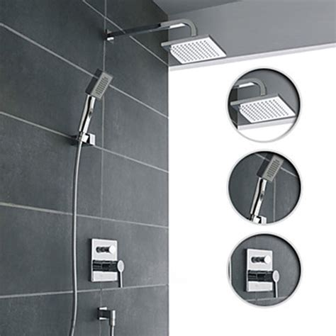 How To Install Shower Faucet Set by Wall Mount Chrome Shower Faucet Set