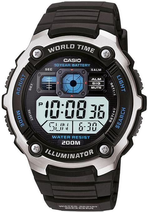 Jam Tangan Casio Ae2000w Digital casio siyah dijital erkek saat ca72358