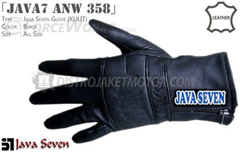 Grosir Sarung Tangan Kulit sarung tangan kulit java seven distro jaket motor