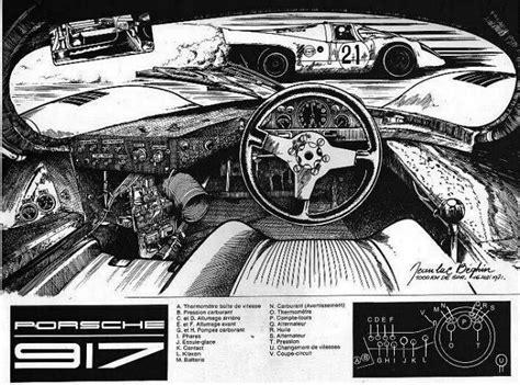 porsche 917 interior porsche 917 t 233 cnica cockpit habit 225 culo