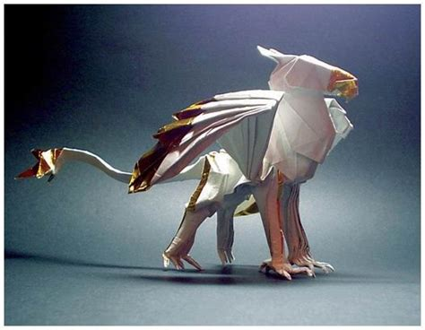 Origami Gryphon - 1000 ideas about origami animals on origami