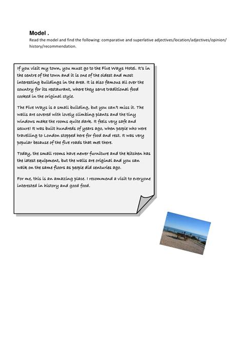 Description Of A Place Essay by How To Write The Description Of A Place