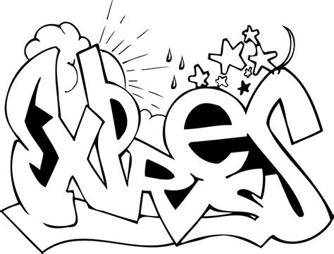 Graffiti Coloring Pages Coloringpagesabc Com Coloring Pages Of Graffiti