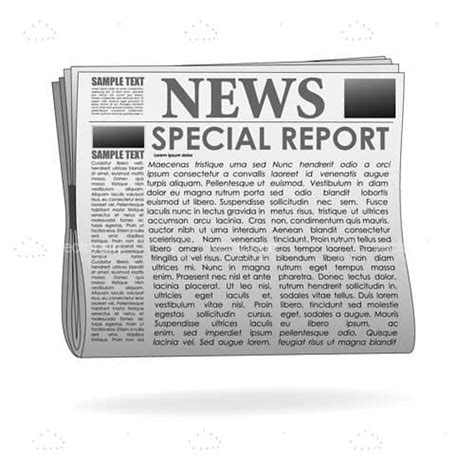 newspaper paper print 183 free vector graphic on pixabay special report newspaper with sle text vectorjunky free vectors icons logos and more